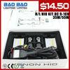 Xenon slim HID Kits, H1 H3 H7 H8 H9 H10 H11 H13 90049005 9006 9007 D2S D2C D2R 880 881 hid headlight