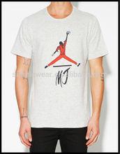 high quality custom printing man t-shirt manufacturer