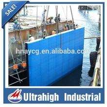 marine fender pad high quality uhmwpe black/white/blue HDPE sheet