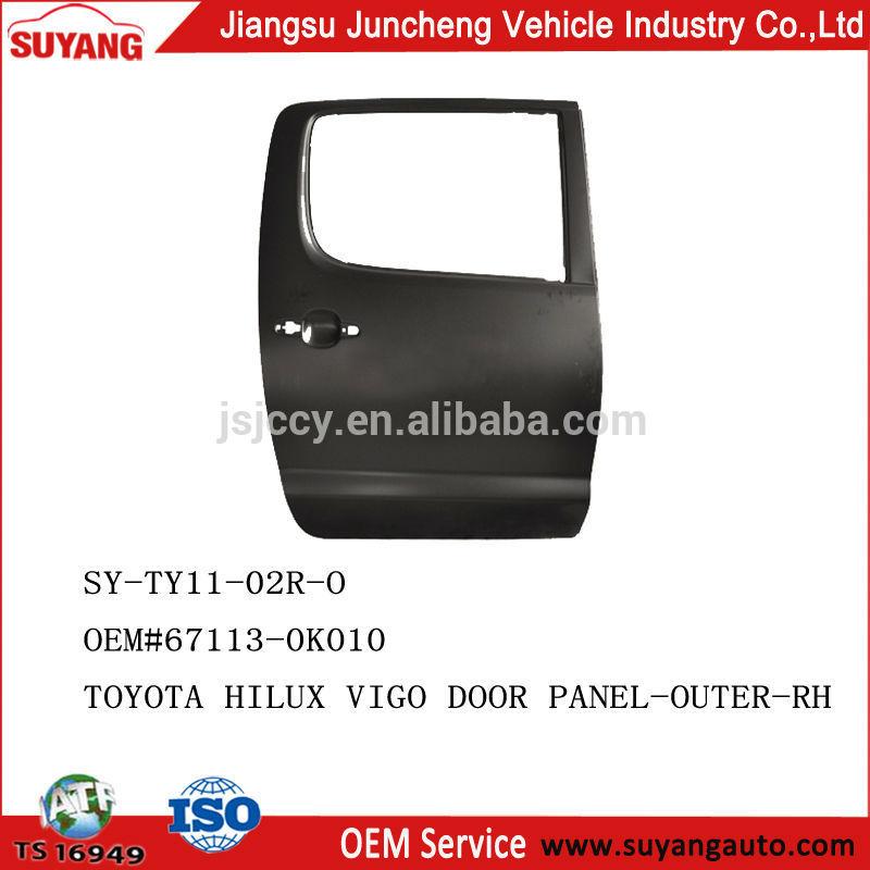 Toyotahiluxvigo2005- 2010ประตูด้านหลังห้องโดยสารสองชิ้นส่วนโลหะอัตโนมัติเปลี่ยน