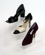 Super quality hot-sale acrylic shoes display stand for retail