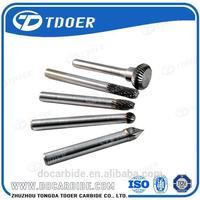 Power tool tungsten carbide rotary burr /dental bur block