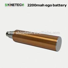 New developed 2200mah ego battery big capactiy e cigarette battery ego v v3 2014 new products