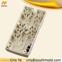 Plastic injection mould of switch board back cover for home appliance