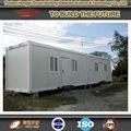 Transporte de contenedores casa de huéspedes confortable sensación de suavidad de seguridad de materiales de construcción