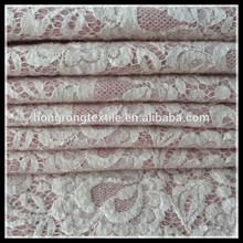 Needle lace wool fabrics