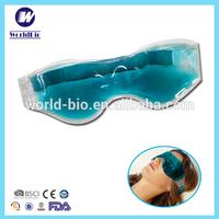 Comfortable heat cooling eye pad