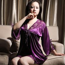 china pijama de seda