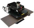 Pneumática dupla estações de calor máquina da imprensa para t- shirt equipamentos da china