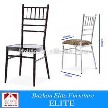 Aluminium frame dining Chaivari Chair Wholesale Prices cheap gold hotel chair ET-01