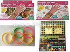 Sticker rubber Bracelets Toy For Beauty Girl