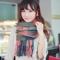 nuevo producto para la moda 2014 gruesa bufanda a cuadros de corea
