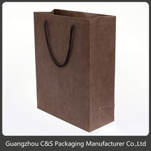Top Quality Nice Design For Wedding Necklace Cotton Handle Paper Shopping Bag
