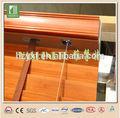 Non- scolorimento di bambù per esterni persiane in legno e sfumature