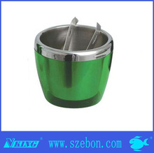 green painting Stainless steel foam apoice ice bucket