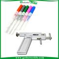Completo kit de perforación con la pistola de piercing/tacos oído/tubo de agujas