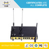 Industrial 4g WIFI router wireless LTE Router with dual sim card slot & external antenna support TCP/IP for M2M application