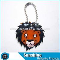 reflective lion make keychains