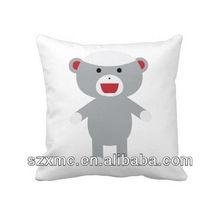 decor comfortable bear image printed hugging cushion