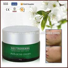Hot sale!! herbal formula beauty care anti acne pimple cream 15g