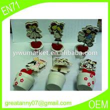 New korea style cartoon beautiful pen wooden gifts useful Children wholesal