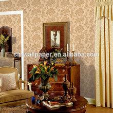 home interior decor ideas nature design non-woven wallpaper for bedroom walls