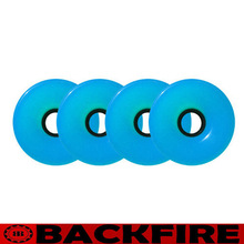Backfire 70mm 78a Offset Hub CYAN BLUE Longboard Wheels Skateboard Cruiser