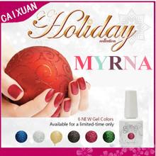 MYRNA gel lidan, uv gel polish, coco gel nail systems