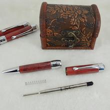 New design Crystal Pen Header Metal Ball Pen Writing Instrument
