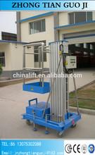 Hot sale !! portable dynamic aluminum alloy hydraulic lifting platform