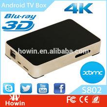 Quad Core Mx Android Smart Tv Box Android 4.4 XBMC digital tv analog converter