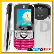 Low price CALSEN 7388, Flashlight Bluetooth FM function China Music Mobile Phone, Dual SIM, GSM Network(Magenta)