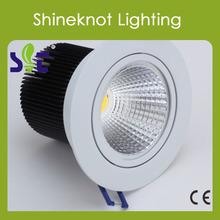 70LM/W 10W Epistar chip 220V cob led ceiling light(CE, RoHS)