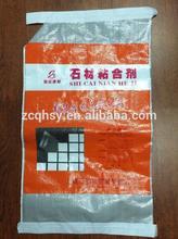 Vendre 15 kg 25 kg bon prix et qualité pp tissé ciment / lime poudre sac, Sac pour industry construction usage emballage