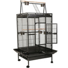 Bird Cage Large Play Top Parrot Finch Cage Macaw Cockato