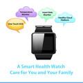 Sıcak satış multi- fonksiyonu gps akıllı saat, kalp hızı monitörü amdroid akıllı seyretmek telefon ebeveynler için