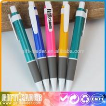 2014 free sample gift ballpoint pen plastic XSGP-2232