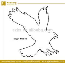 Popular PP plastic lovely kids' stencil designs/Birds flying stencils
