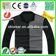 New design cheap polka dot shirt factory