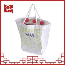 Hot Wholesale plain cotton tote bag