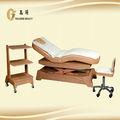 Utilitário simples cama de madeira maciça fornecedor na China
