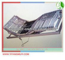 sleep science strengthen wooden slats electric adjustable bed frame