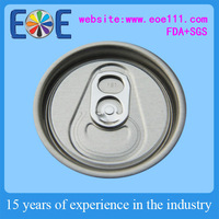 aluminum easy open can cap /lid /end for Beverage 202SOT Maine