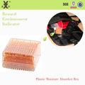 relógio moisiture absorvedor de sílica gel laranja vasilha de plástico