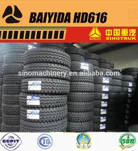 BAIYIDA HD616 truck tire 1200r20 inner tube
