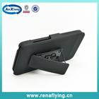 Black belt clip cell phone case for moto G2