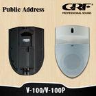 Plastic Wall Mount Speaker /Mini Public Address System