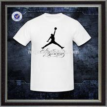 wholesale mens fashion playing basketball printing tshirt white