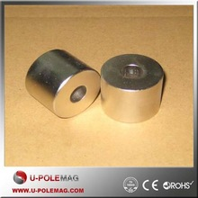 High Quality Customized N35 Round Magnets Wth Holes