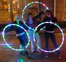 Hula hoop fitness flash explosion models